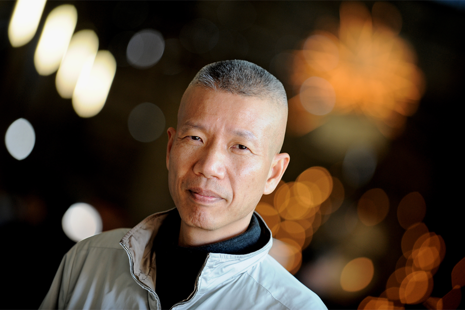 Artist Cai Guo-Qiang, May 11, 2010. (Photo by Greg Wood/AFP/Getty Images)