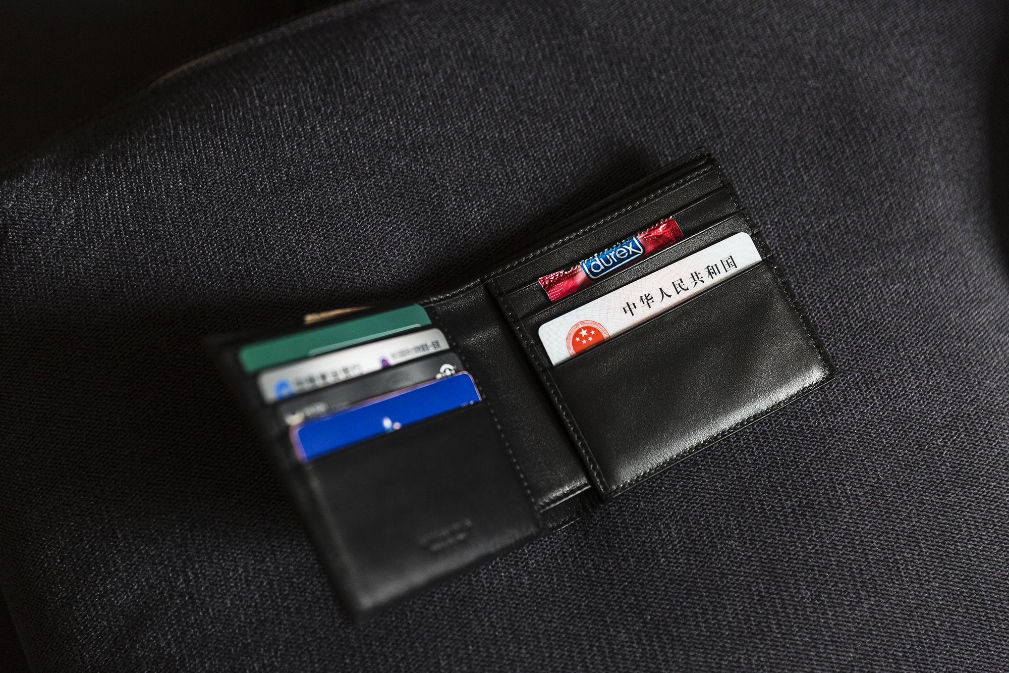 A PUA mentor's wallet, May 17, 2015.