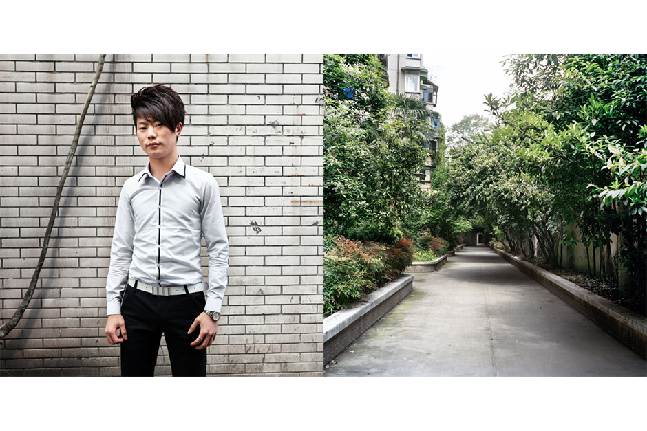 Zhang Liang, 23, Faxiang Tianxia (Best Hairdo). Zhang rents a small apartment with his sister.