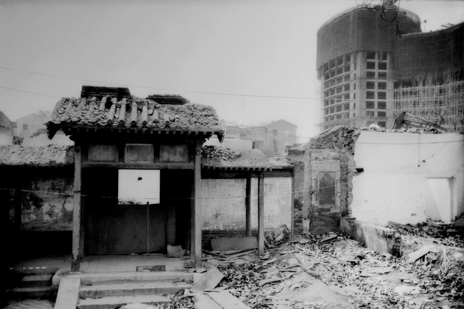 In the past decade, Beijing has demolished most of the city's distinctive alleyways, or <em>hutong</em>, some of which date as far back as the Yuan Dynasty of the thirteenth century.