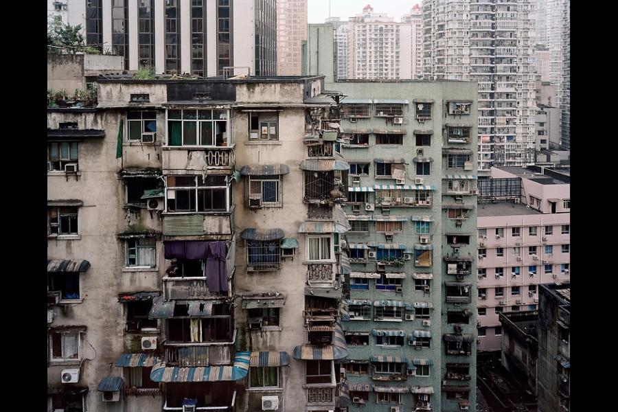 Apartment buildings in Chongqing.