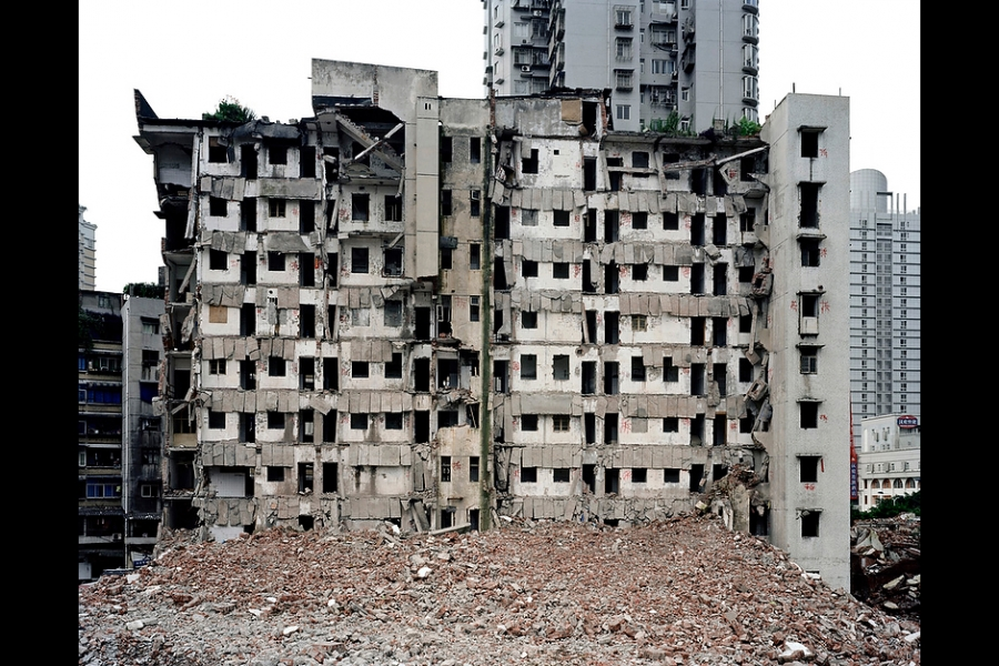 Demolition in Chongqing.