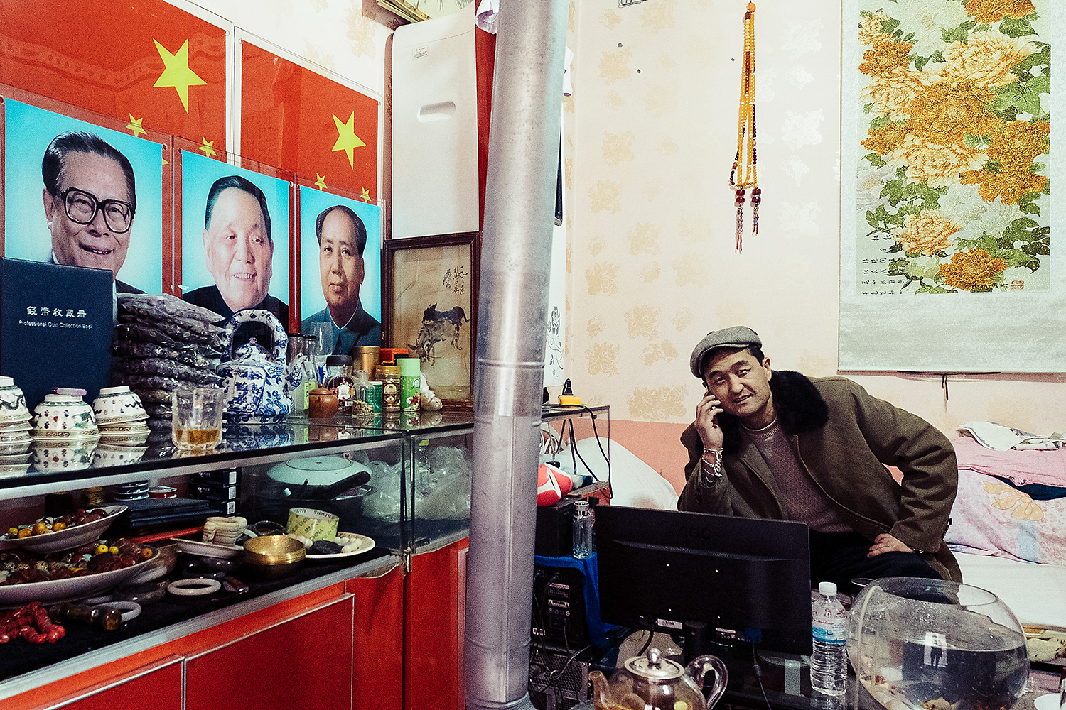 Thirty-six-year-old Mehmet, who only gave his first name, peddles antiques and jade on a Kashgar street popular with tourists. He says he is a fan of former Chinese leaders Mao Zedong and Deng Xiaoping, and thinks that Kashgar could benefit from its own 'Reform and Opening Up'—a policy Deng instituted to liberalize China's economy.