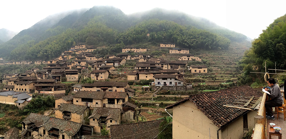 rural chinese village images