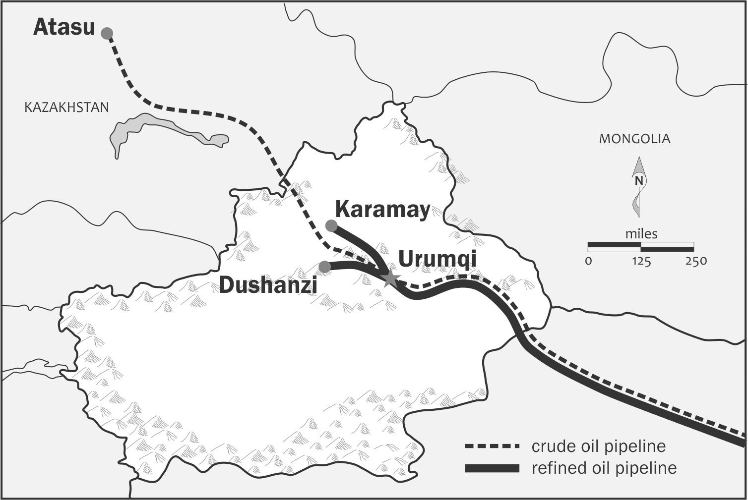 Map Xinjiang.Beijing S Long Struggle To Control Xinjiang S Mineral Wealth Chinafile