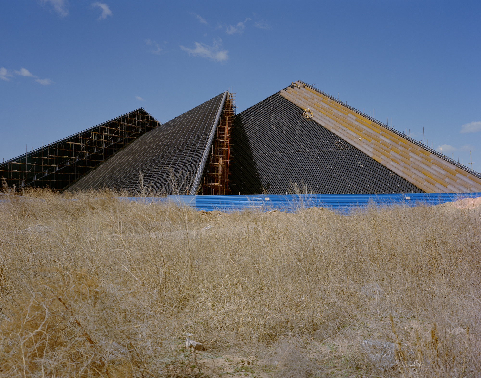 """The Datong Art Museum is still under construction. A design release in 2012 said, """"the museum will open in 2013."""""""