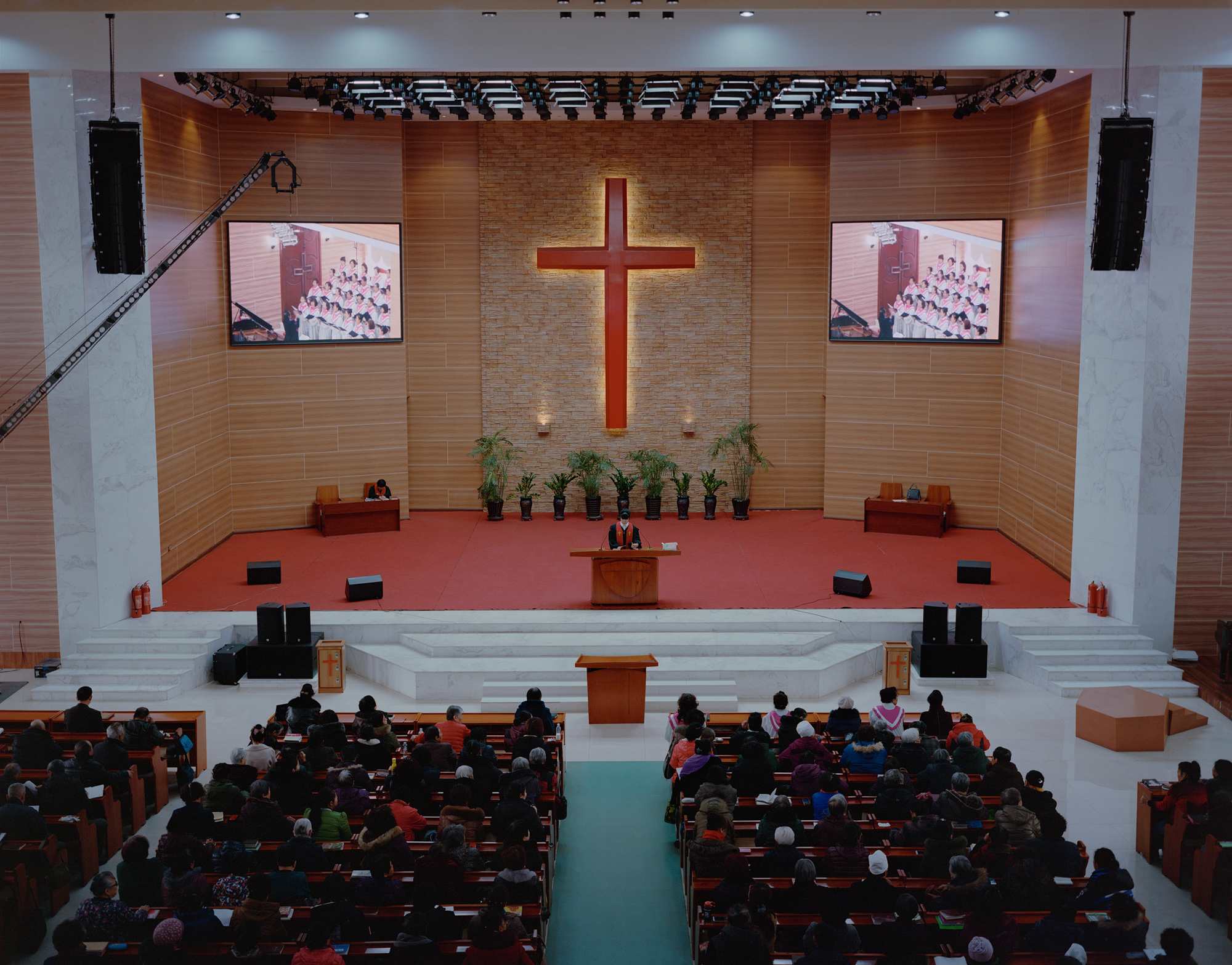 "A Christian church in Fuxin. In the 2013 ""Sustainable Development Plan for Resource-Based Cities (2013-2020),"" China's State Council further clarified its definition of ""resource-based cities"" as ""cities and counties whose pillar industry is the exploitation and processing of minerals, forest, or other natural resources."" The document designated 262 locations as ""resource-based cities."" Fuxin was among them, in the sub-category ""declining."""
