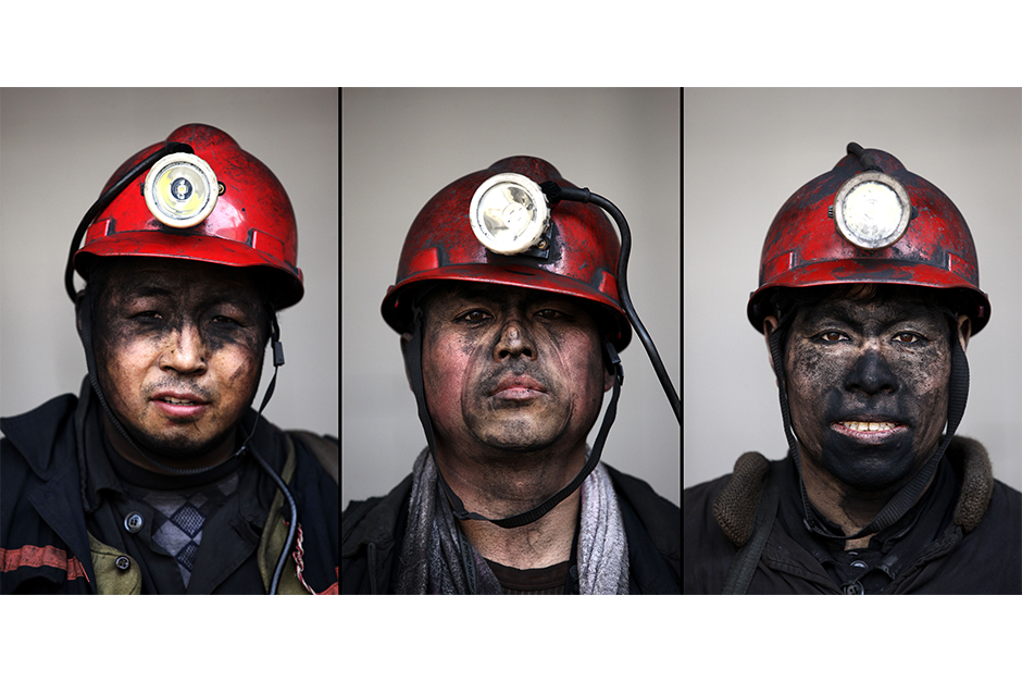 Li Hongqi, 51, Wang Binjun, 42, Wang Xianjun, 48. Together, they have a cumulative 76 years of experience working in the mines.