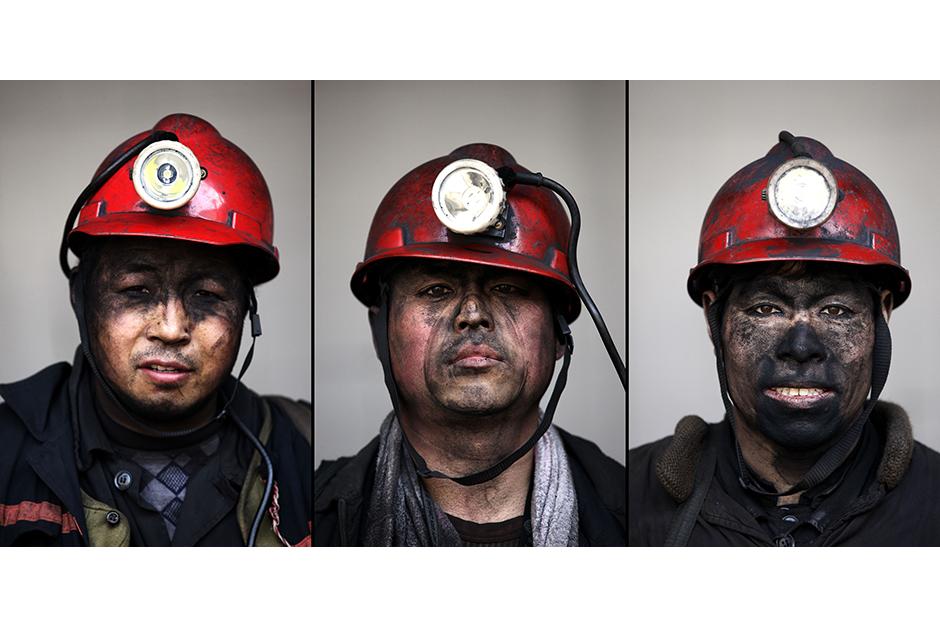Li Hongqi, 51, Wang Binjun, 42, Wang Xianjun, 48. Together, they have a cumulative 76 years of experience working in the mines.