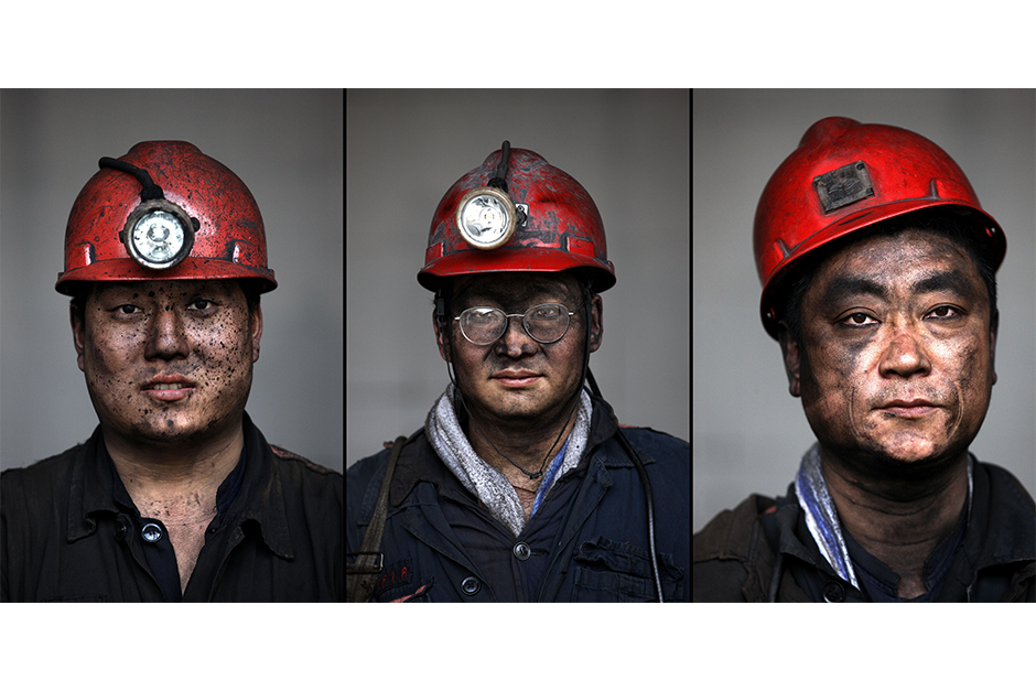Li Chuanyi, 34, Li Guijie, 38, Zhang Yixian, 51. Together, they have a cumulative 52 years of experience working in the mines.
