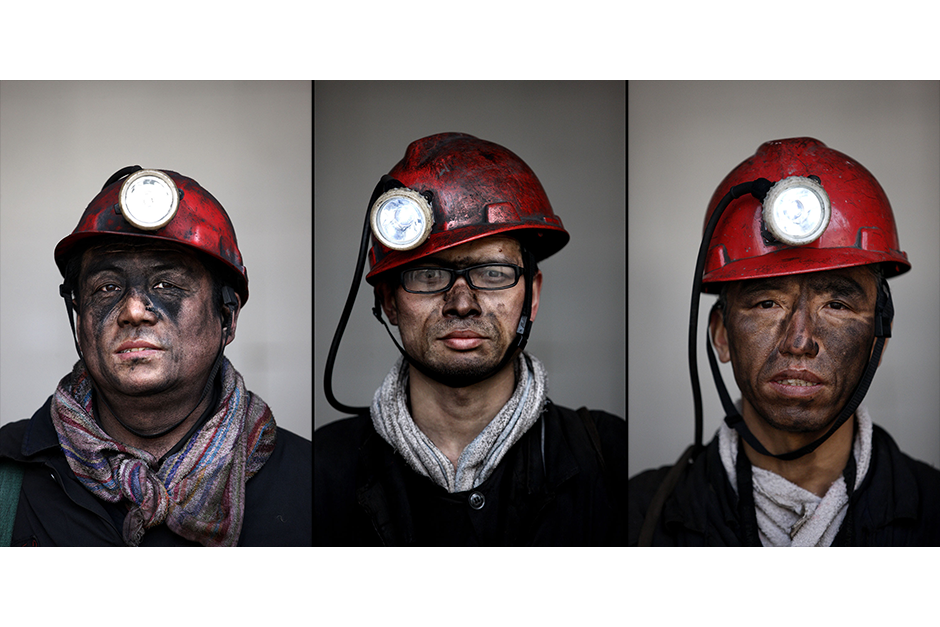 Jiang Xingren, 45, Pang Huaibei, 35, Yin Yonghua, 47. Together, they have a cumulative 55 years of experience working in the mines.