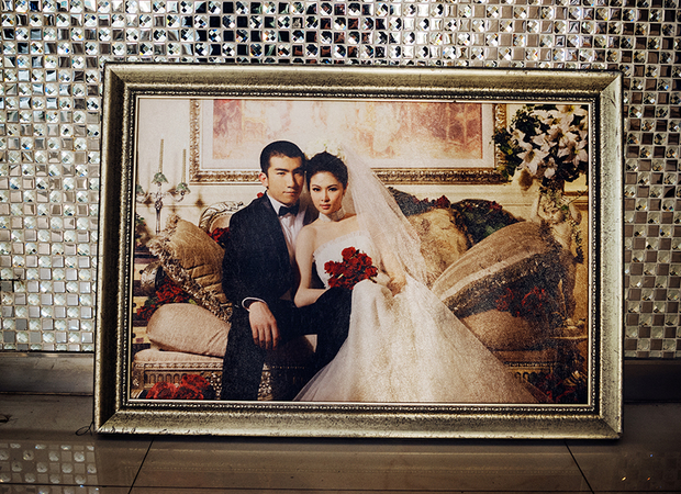 After their sessions, each couple receives an album and an official portrait of their choosing to be displayed during their actual wedding.